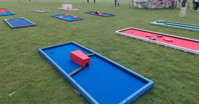 Mobile Crazy Golf for hire